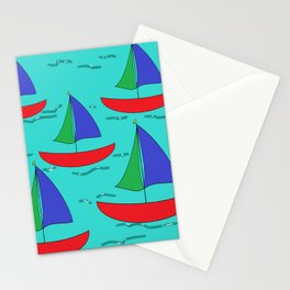 Five Sails Stationery Cards