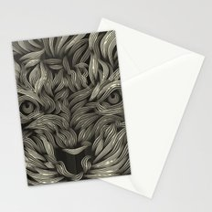 TIGER LILLY sepia Stationery Cards