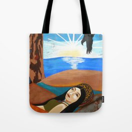 Sunrise on Sacred Land Tote Bag