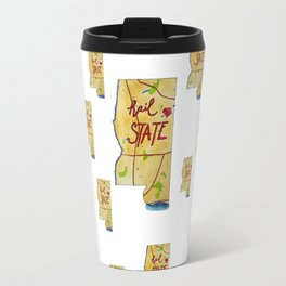 Mississippi State - Hail State! Travel Mug