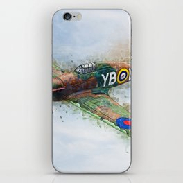 Hawker Hurricane Mk II iPhone Skin