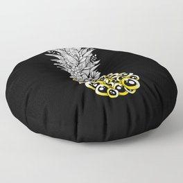 Tropical Illusion Floor Pillow