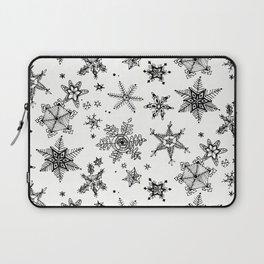 Snow Flakes Laptop Sleeve