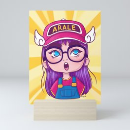 little Arale Mini Art Print