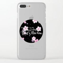beautiful art Clear iPhone Case