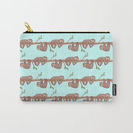 Lazy Baby Sloth Pattern Carry-All Pouch