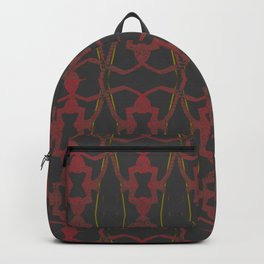 Golden Chain (Black) Backpack