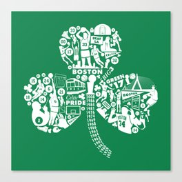 Dynasty-Green Canvas Print