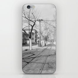 Esplanade Avenue, New Orleans, 1900 iPhone Skin