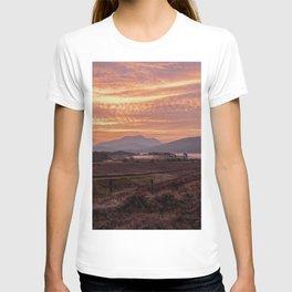 Scotland Ben Nevis mountain at sunrise T-shirt