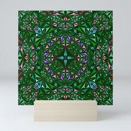 Kaleidoscope 4. Mini Art Print