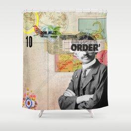 Public Figures Gandhi Shower Curtain