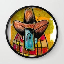 Sad Cowboy Wall Clock