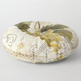 Tuscan Table Blanc Floor Pillow