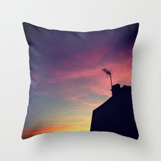 SHADOWGRAPH Throw Pillow