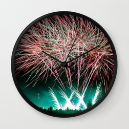 Bonfire Night Wall Clock