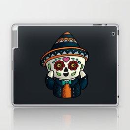 Surprised calavera Laptop & iPad Skin