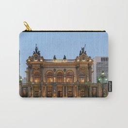 Theatro Municipal In Sao Paulo Carry-All Pouch