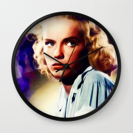 Anne Francis, Vintage Actress Wall Clock