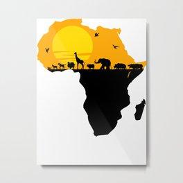 Africa Metal Print