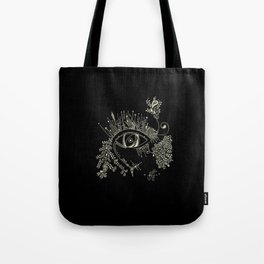 The eye watching you Tote Bag