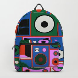 the only good system is the sound system Backpack