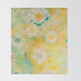 zen garden Throw Blanket