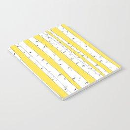 Aspen Forest - Yellow Notebook