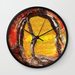 Get Outta There! Wall Clock