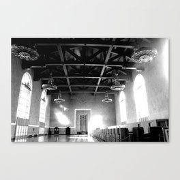 Sunlight Through Union Station Canvas Print