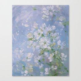 Sweet Wild Roses Canvas Print