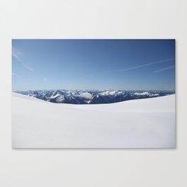 Cloudless Summit Canvas Print