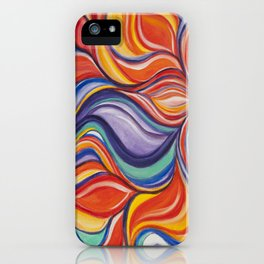 Fire Blossom iPhone Case