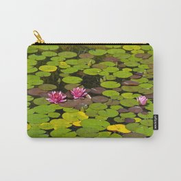 Pink waterlilies Carry-All Pouch