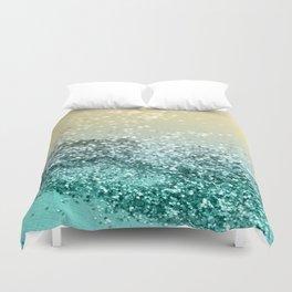 Lemon Twist Beach Glitter #2 #shiny #decor #art #society6 Duvet Cover