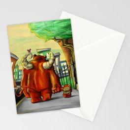 Daddy's Little Monster Stationery Cards