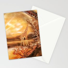 Africa is alive Stationery Cards