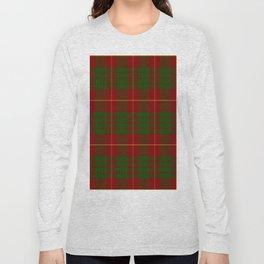 Cameron Red & Green Tartan Pattern #2 Long Sleeve T-shirt