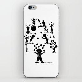 Jugglefest! iPhone Skin