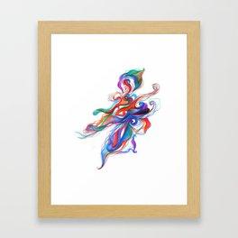 bitter flower Framed Art Print