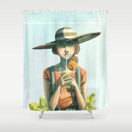 Sunhat Shower Curtain