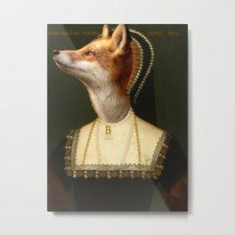 Anne Boleyn Metal Print