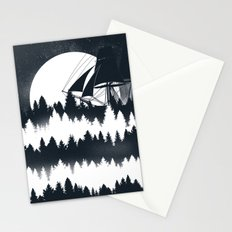 Forest Wave Stationery Cards