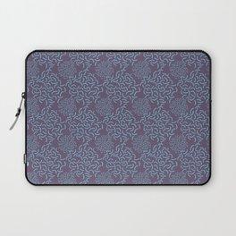Neo Memphis Coordinate Purple Blue Laptop Sleeve