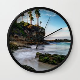 Incoming Tide - Laguna Beach Wall Clock
