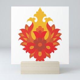 Shah-Abbasi Flower Mini Art Print