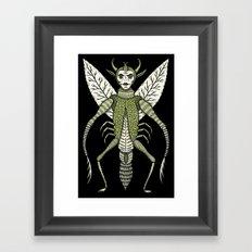 Ten-Legged Creepy Crawly Framed Art Print