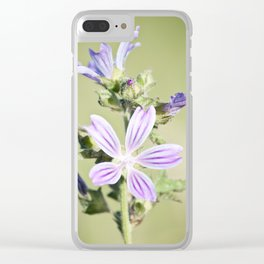 Malva Clear iPhone Case