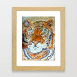 Terence Tiger Framed Art Print