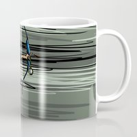 archer Mugs featuring Archer by Natalie Easton